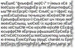 Неправильная кодировка письма