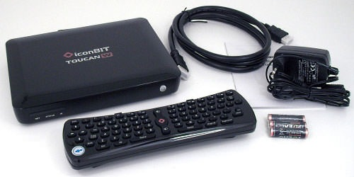 Тоже мини-компьютер для телевизора - IconBIT Toucan W
