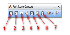 Программа для снятия скриншота FastStone Capture