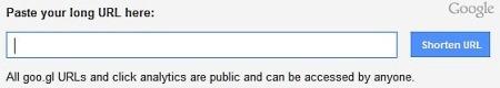 Окно сервиса Google